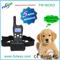 LCD Waterproof Remote Dog Training Collar Wholesale 15 Months Warranty