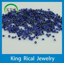 wholesale shining bule round brilliant cut 114# spinel, rhinestone