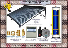 2015 new product Cost-effective high capacity split solar thermal storage system with none heat exchanger container