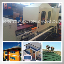 color stone coated roof rocky tile rollforming machine