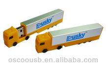 Fancy truck usb memory stick, usb flash drive with customized logo printing, special customized usb key 1gb 2gb 4gb 8gb 16gb