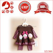 100% cotton bulk kids clothing wholesale,cartoon printing children clothes/kids wear,2015 fashion kids clothes