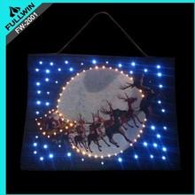 Christmas led tapestry
