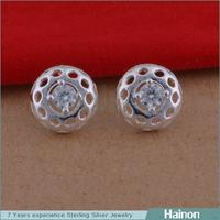 yiwu factory 925 silver value per gram stud earring