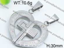 2015 Fashion Stainless Steel factory jewelry sterling silver pendant bezel
