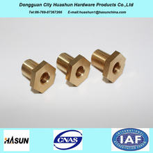 CNC Turning Service Precision Brass Turning Parts Sales in American and European Market