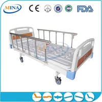 MINA-MB2308 luxurious home care 2 cranks Manual lift bed frame