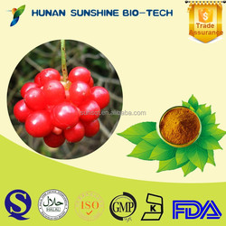 Factory Supply Pesticides Free Schisandra Fruit P.E. 2% Schisandrins & 1% Schisandrin A