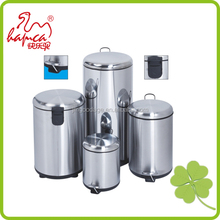 Standing Structure and Eco-Friendly,Stocked Feature stainless steel recycle trash bin /GYPB040