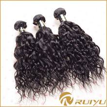 Full length 8 to 30inch indian naturally curly weave hair