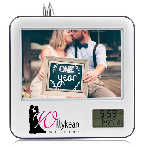 Custom picture frames personalized picture framesdual for Engraved digital photo frame