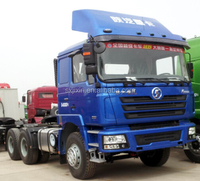 shacman 6*6 AWD tractor head trucks for Russia on sale