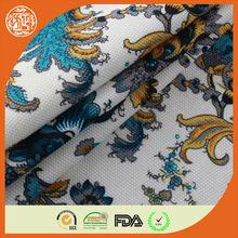 100% polyester knitting diamond jacquard fabric