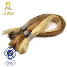 japanese kanekalon fiber synthetic golden yellow hair color bulk