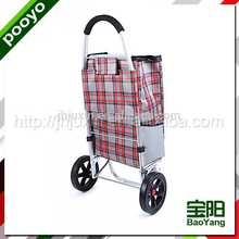 hand trolley two wheel promotional bags polyester