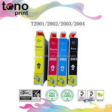 best selling brand new compatible ink jet cartridges T2001/T2002/T2003/T2004 for Epson