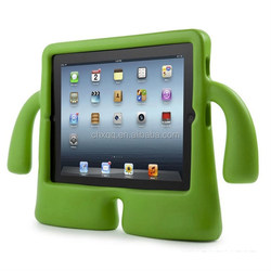 Kids Safe Foam EVA Shockproof Handle Silicon Stand Cover silicone Case For Ipad mini 1/2/3