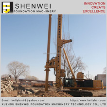 China rotary pile driver drilling rig supplier CSRTR500C