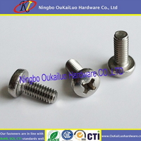 Your first choice! Delicate machine screws Best design original triangle head for SS or iron