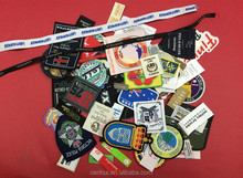 Professional factory custom various types, recyclable garment woven labels