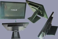15inch wall mount lcd/led ad dispaly PPC
