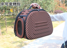wholesale cloth folding carrier / innovator and cute dog carrier bag/ pet pocket