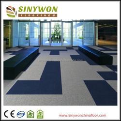 Popular style Nylon Solid color Carpet Tile