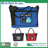 Lunch cooler tote with two big side pocket for bottle packed