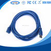 Manuafacturer of usb af to usb am am-af blue serial extension cable for mobile phone charger