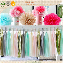 baby girl birthday ideas hanging Tissue Paper Garland