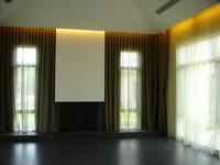 sliding drapery curtain