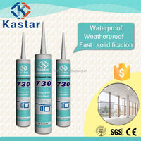 Non-corrosive 300ml silicone adhesives and sealants