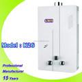 6L 8L 10L 12L 20L tipo de combustión del calentador de agua de gas, instantánea calentador de agua de gas, Gas géiser con CE