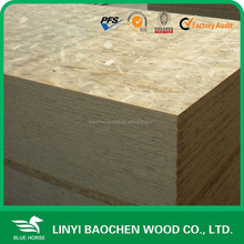linyi osb factory of melamine glue waterproof osb