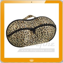 Leopard Style Travel Organizer protect bra underwear Bag