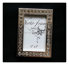 Top sell hot selling silver flower tabletop picture frame