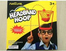 headband basketball hoop game