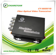 8 channel fiber optic 1*9 transceiver