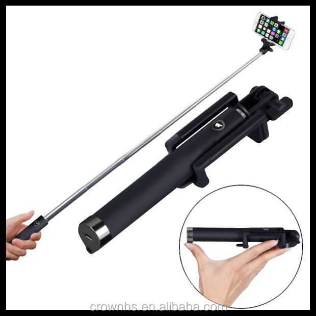 best quality selfie stick monopod with bluetooth remote shutter button bu. Black Bedroom Furniture Sets. Home Design Ideas