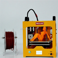 2015 hot sale family/school use 3D printer with printing size 110*130*110mm