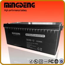 200amper 12 volt ups battery for computer sealed lead acid battery