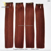 Top Selling New Arrival Private Label Best Quality Top Quality Double Drawn No Shedding weave #30 color