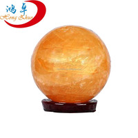 Various sizes cheap good quality natural yellow jade stone quartz crystal spheres,harmony balls