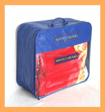 2015 hot sale pu leather blanket storage bag