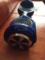 2 wheel scooter blue color 2 wheel board self balancing electric tricycle