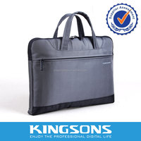 """Stylish High End Men Laptop Bags for 13.3"""" Laptops with Interior Pouches and Clip-on Valuables Bag"""