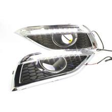 Light Guide High Power LED DRL Daytime Running Light For Honda CRV 2012