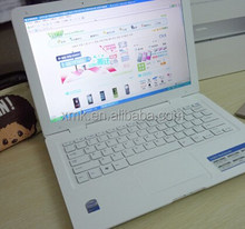"cheapest brand new laptops :13.3"" BRAND name ultrathin laptops white black pink gold colors Intel D2500 Dual Core WIFI Laptops"