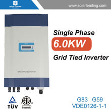 New design 6kw dc inverter air to water heat pump connect to small solar panel for solar power system for small homes