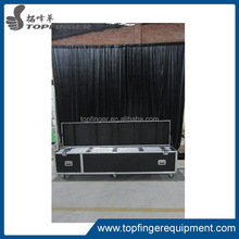 facoty provide fashion tblack stage curtain for stage backdrops